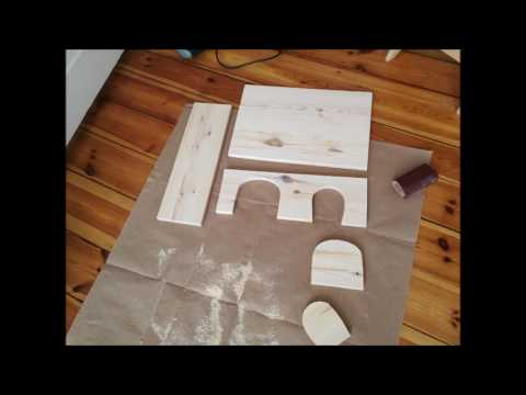 meerschweinchen gehege anleitung zum h uschen selbst bauen youtube. Black Bedroom Furniture Sets. Home Design Ideas