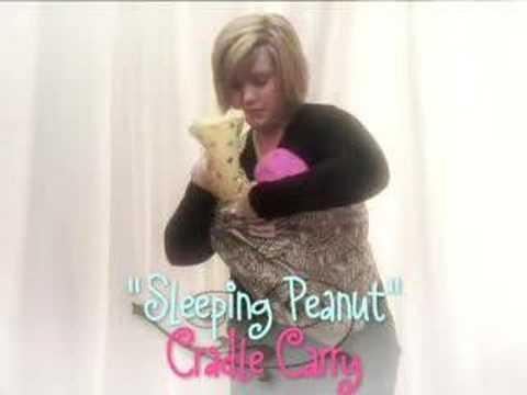 peanut shell baby sling instructions