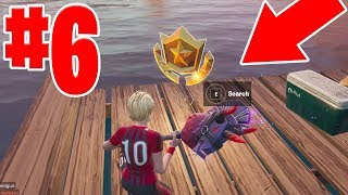 SEASON 10 WEEK 6 BATTLE STAR FORTNITE SECRET LOCATION