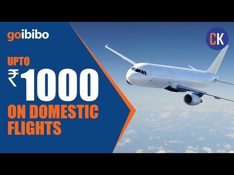 Get Upto ₹1000 OFF On Domestic Flights - Goibibo Domestic Flight Offers