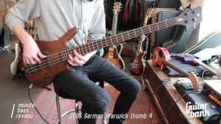 2005 German Warwick Thumb — One Minute Bass Review