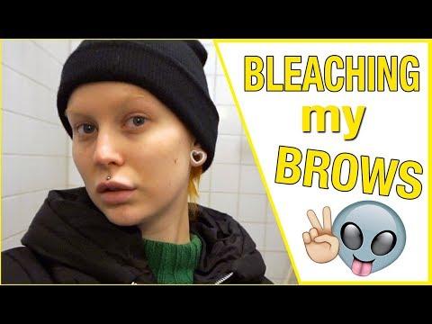 VLOG | Tanning, Hair Dyeing & Brow Bleaching