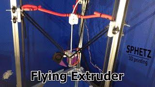Assembling A Flying Extruder For Kossel 3d Printer