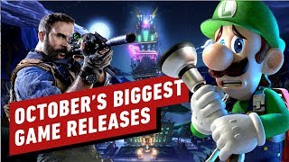 The Biggest Game Releases Of October 2019