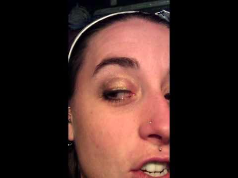 Drunk eye test