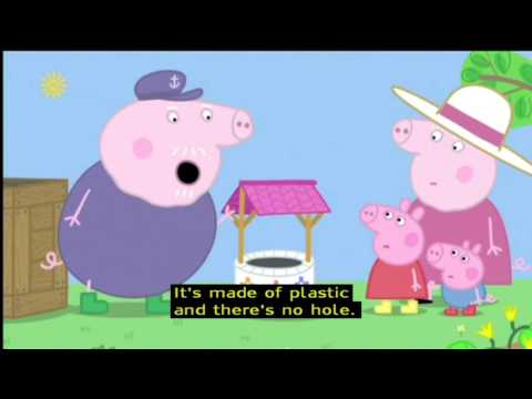 Peppa Pig (Series 4) - The Wishing Well (with subtitles)