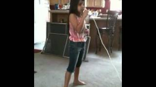 Love Story - Yeya singing on Wii
