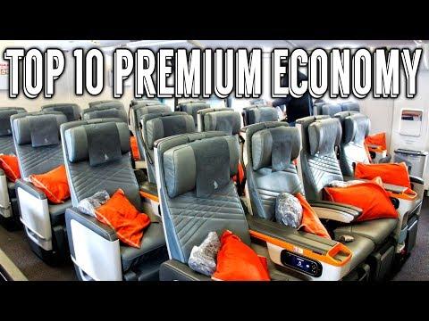 Top 10 Premium Economy Airlines Worldwide