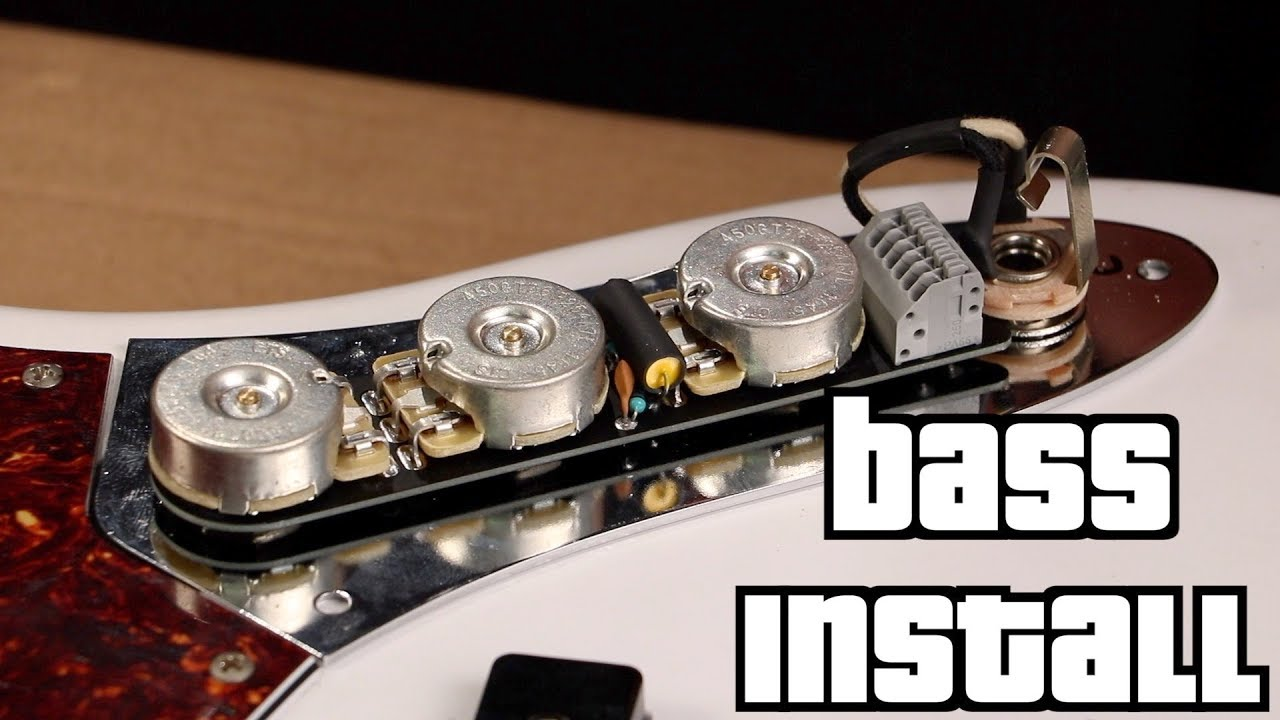 medium resolution of obsidianwire jazz bass installation