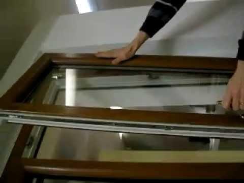 Sblocco anta ribalta finestra internorm youtube for Finestra a ribalta