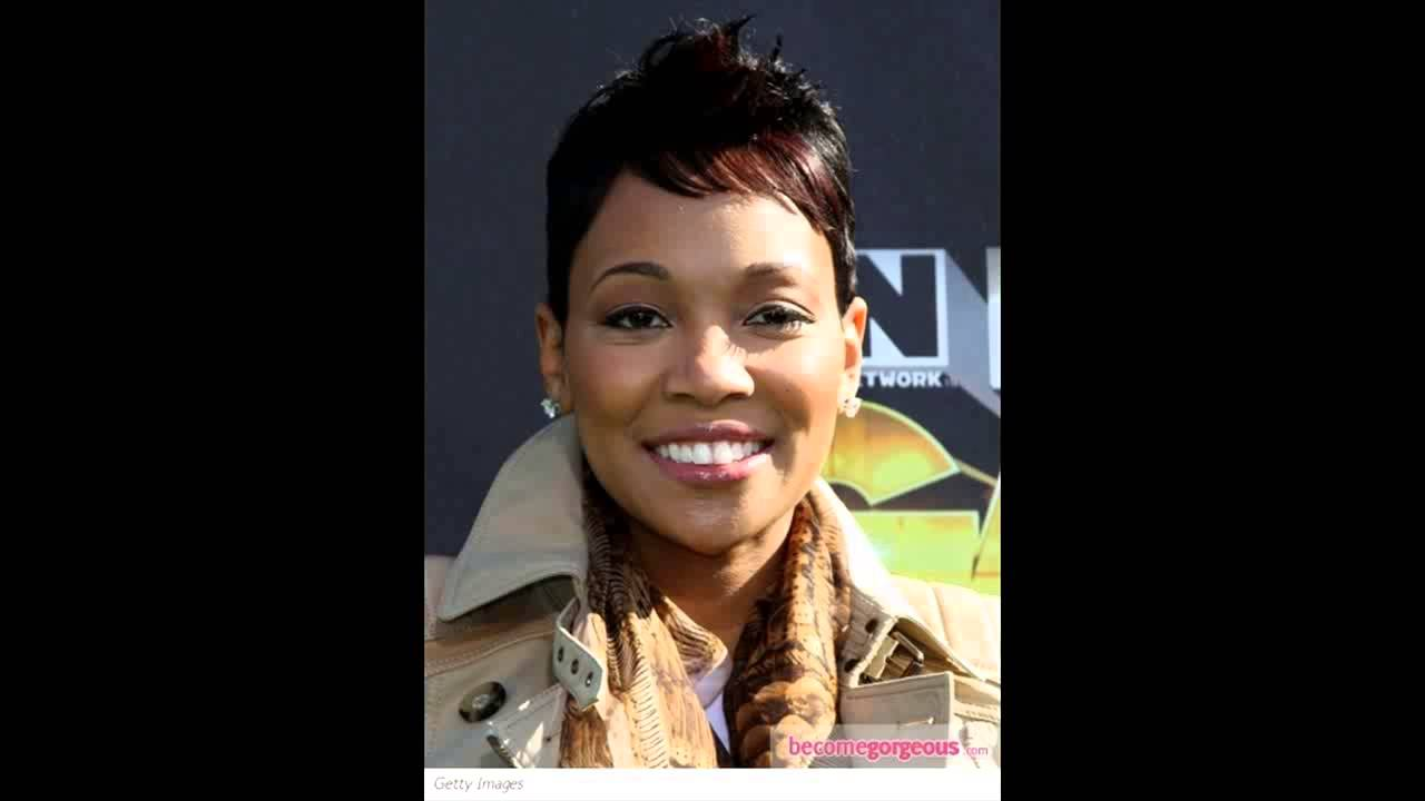 Monica short hairstyles