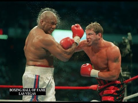 Tommy Morrison Beats George Foreman This Day June 7, 1993 Wins Crown
