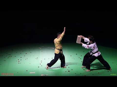 2017 China Open Taekwondo Championship Opening Ceremony,2017 中国跆拳道公开赛 开幕式 WTF 跆拳舞 品势 特技 表演 静音版