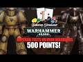 Table Top Simulator ►Imperial Fists v Iron Warriors - 500 Points