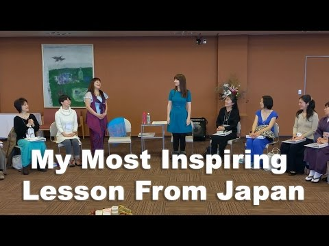 Episode 56: Most Inspiring Lesson from Japan