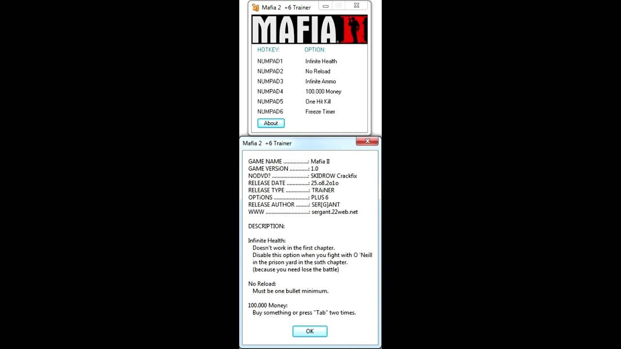 Download trainer mafia 2