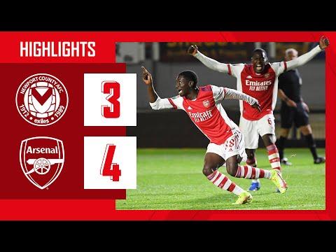 HIGHLIGHTS | Newport County v Arsenal (3-4) | U21 | Hutchinson, Salah, Olayinka, Sagoe Jnr