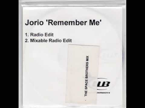 Jorio - Remember Me (Mixable / Extended Radio Edit)