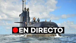 🔴 EN DIRECTO: Rueda de prensa sobre el hallazgo del submarino ARA San Juan