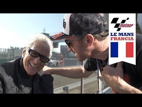 Vuelta rápida en el Safety Car | MotoGP | Ibon Zugasti
