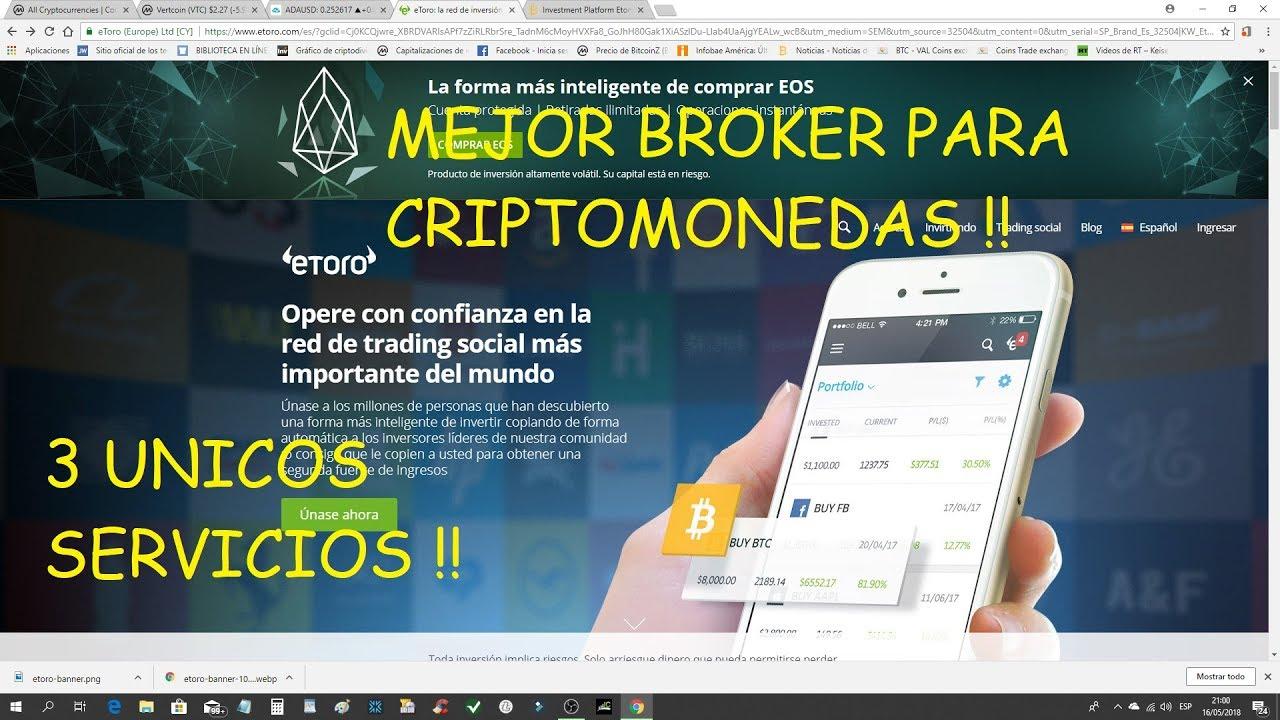 mejor broker para bitcoin
