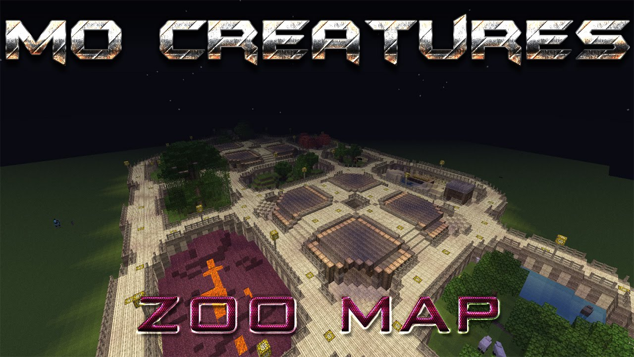 Mo Creatures Zoo Map Download 18172 Minecraft Mo