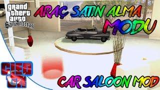 Gta San Andreas #39- Araba Satın Almak   CarSaloon Mod   Tanıtım   İndir   Download