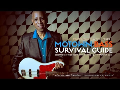 Motown Bass Survival Guide - Intro - Andrew Ford