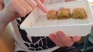 СИРИЙСКАЯ ПАХЛАВА ☕ вкусный обзор еды