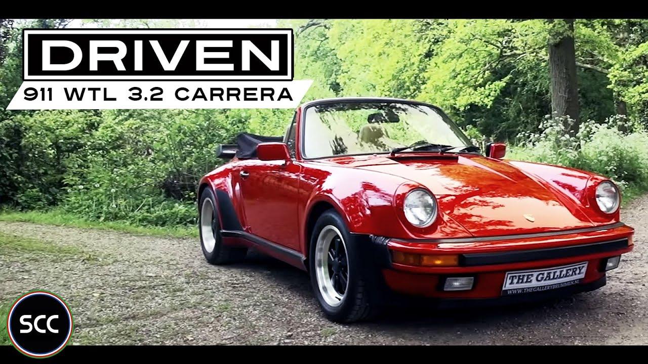 Porsche 911 wtl 32 carrera convertible 1986 full test drive in porsche 911 wtl 32 carrera convertible 1986 full test drive in top gear engine sound scc tv vanachro Gallery