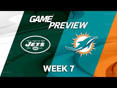New York Jets vs. Miami Dolphins | Week 7 Game Preview | NFL