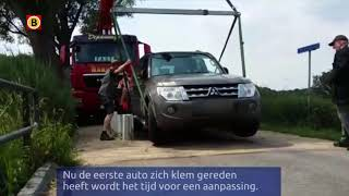 De wegversmalling bij Lage Mierde is aangepast, maar of dit de oplossing is?