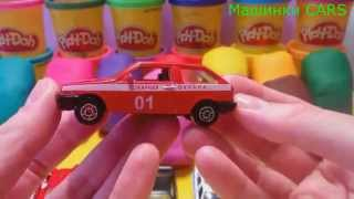 Play doh small cars. Сars for kids Машинки (колыбельная музыка) успокаивающее видео для мальчиков