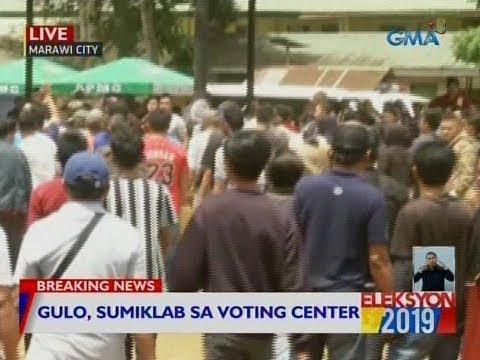 #Eleksyon2019: Gulo, sumiklab sa voting center sa Marawi City