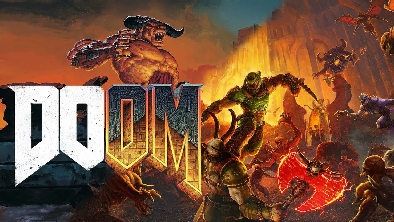 Classic Doom Eternal Trailer Side-by-Side Comparison
