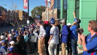 Chicago Cubs Championship Parade 11/4/2016