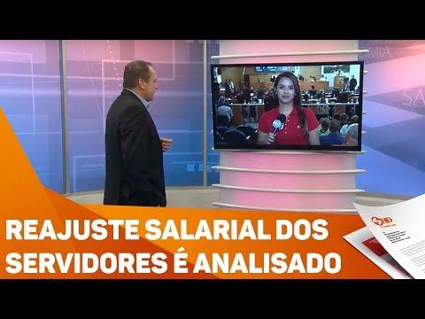 Vereadores analisam reajuste salarial dos servidores - TV SOROCABA/SBT