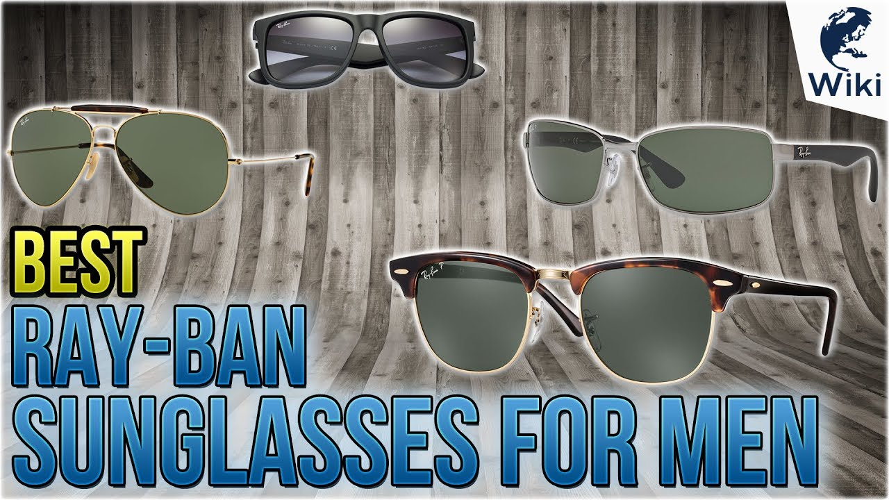 f01bd934ea3a 10 Best Ray-Ban Sunglasses For Men 2018 - YouTube