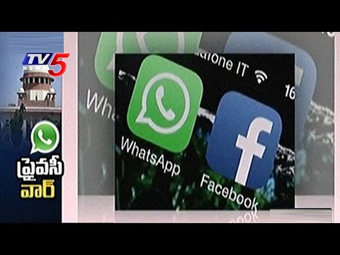 WhatsApp Case : SC Issues Notices to Centre, Trai and Facebook | TV5 News