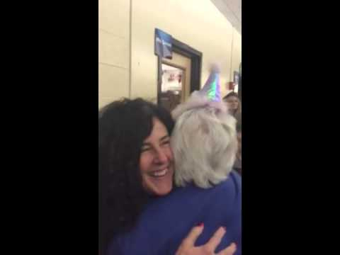 Ichabod Crane Middle School says goodbye to Ms. Rieck