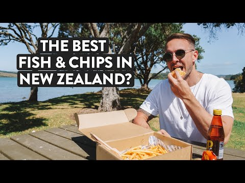 """New Zealand's So Pretty"" 😍 Fish and Chips & Waterfalls 
