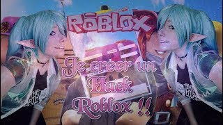 Crear un ROBLOX HACK!! ENTRADAS, ROBUX!!!