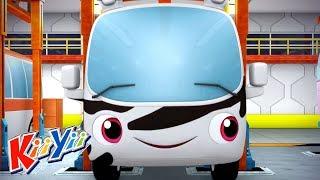детские песни | 10 маленьких автобусов + Еще! | KiiYii | мультфильмы для детей