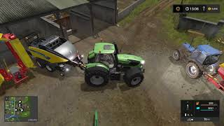Fs 17   Old Stream Farm - Timelapse #4 - Harvest, Baling & New Tractor!