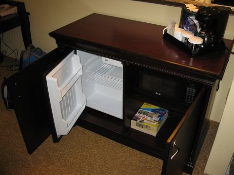 cabinet for mini fridge and microwave
