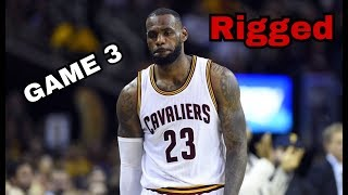 These NBA finals are rigged, Lebron James can't win & won't win!