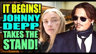 Johnny Depp Takes the STAND VS Amber Heard and the Sun! It Begins!