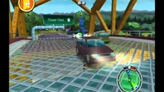 Simpsons Hit and Run Walkthrough: Level 4 - All Cards, Outfits, Wasp Cameras and Gags [1/2]