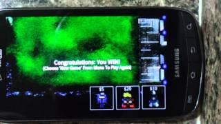 Robo Defense Survival Mode Last Level on 4G Droid
