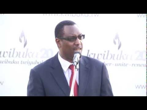 Speech by Rwanda's Minister of Sports and Culture Mitali Protais in Nyanza, Kwibuka Flame Tour